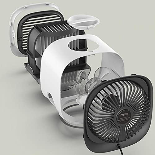 Mini condizionatore d'aria USB Air Cooler Air Cooler per la famiglia per l'ufficio per la casa(Cielo bianco)