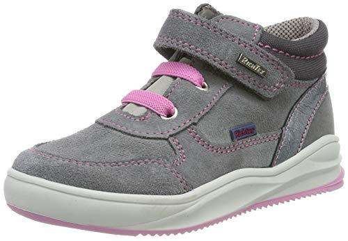 Richter Kinderschuhe Mädchen Harry Hohe Sneaker, Grau (Ash/Steel 6302), 27 EU