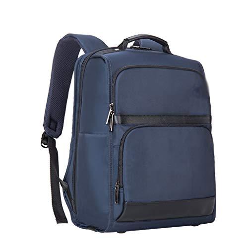 Lichte rugzak voor heren, portemonnee, draagbaar, opbergtas, waterdichte stof, verborgen tas op de rug.