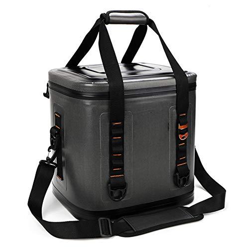 JTYX 15L / 20L Soft Cool Bag Bolsa de Entrega de Alimentos aislada Bolsa de Almuerzo Reutilizable Bolsa de Picnic Plegable para Acampar BBQ Compras Pesca Actividades Familiares al Aire Libre