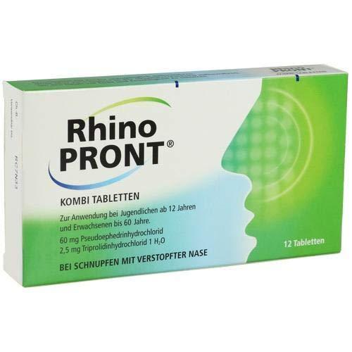 RHINOPRONT Kombi Tabletten 12 St