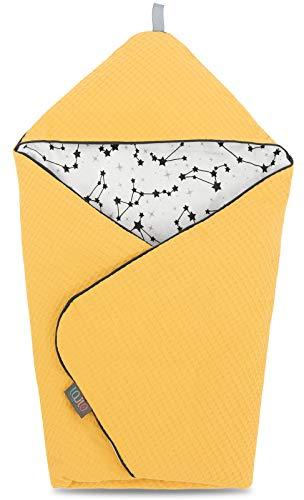 Manta envolvente para bebé recién nacido Burrito envolvente para bebé recién nacido Manta envolvente para bebés pequeños Manta de cuerno suave para dormir feliz 100% manta de algodón