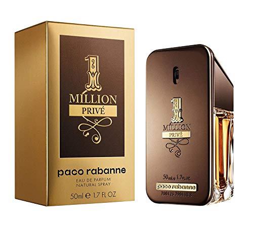 Paco Rabanne 1 Million Privé Agua de Perfume Spray, Dorado - 50 ml