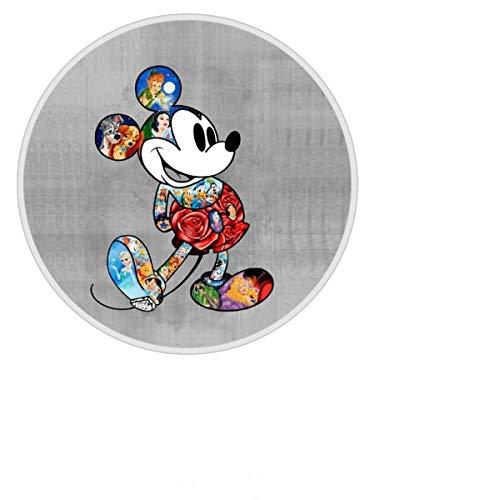 AEMAPE Soporte para Dedo para teléfono Celular Disney Mickey Mouse Grip Soporte Plegable para teléfono Soporte Extensible Compatible con Todas Las tabletas y teléfonos Inteligentes
