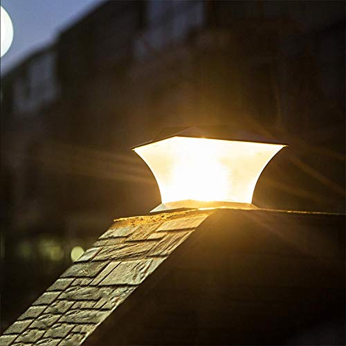 Seasaleshop lámpara Solar Exterior 24LED Aplique Exterior Impermeable, reconocimiento automático del Cuerpo Humano, para jardín, casa, Garaje, Patio, Muro, Escalera, Patio