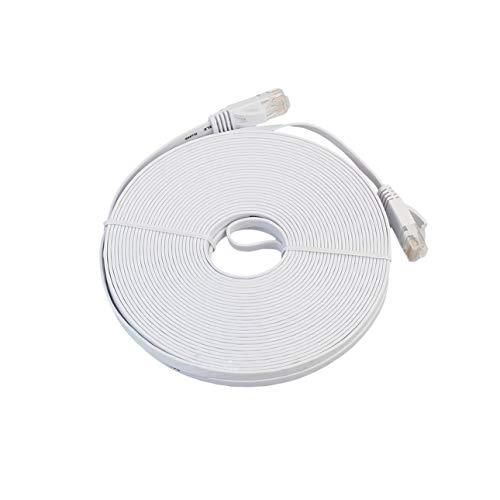 Ba30DEllylelly Cable LAN de Red Ethernet Plano CAT6e Cable de conexión de Cable Ethernet para computadora portátil de transmisión de Alta Velocidad para Oficina en casa