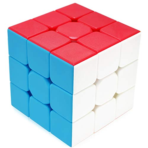 Maomaoyu Speed Cube 3x3 Stickerless, Cubo Magico 3x3x3 Professionale, Puzzle Rompicapo per Adulti e Bambini