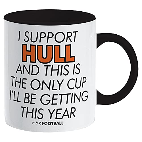 I Support Hull City and This is only Cup Football Mug - Merchandise Gift for Fan