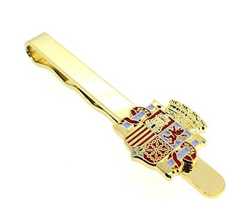 Gemelolandia Pasador de Corbata del Escudo de la II República Española   Pisa Corbatas Para usar en Bodas y en Eventos formales   Da un toque Elegante   Complementos de Moda Para Hombres