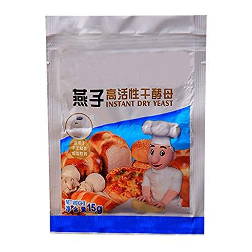 DealMux 15 g de levadura de pan Levadura seca activa Alta tolerancia a la glucosa Accesorios para hornear de cocina