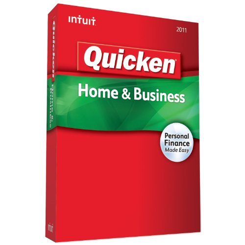 Price comparison product image Quicken Home & Business 2011