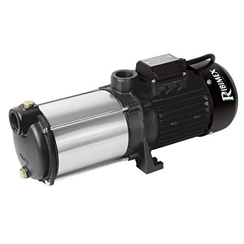 Ribimex PRMCA5GD Pompa di Superficie, Grossa, Portata, 2300 W, Nero/Argento, 20x19x45 cm