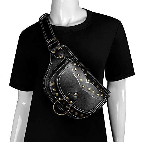 LCSD Backpacks Unisex Punk Steampunk Hip Bag Waist Pack,Vintage Gothic Retro Skirt Messenger Bag Hip Bag Handbag ,Multifunction Outdoors Travel Fishing