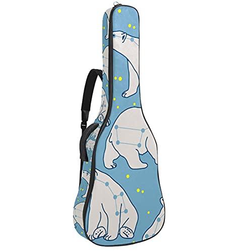 Ursa Minor Polar Bear - Mochila para guitarra o guitarra