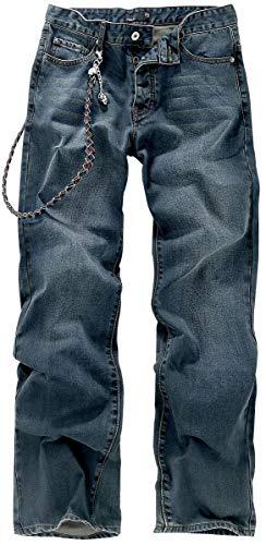 Forplay Deluxe Männer Jeans blau W36L35 98% Baumwolle, 2% Elasthan Casual Wear