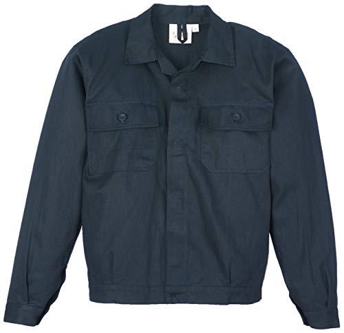 Seba 437A Giubbetto Lavoro Cotone Blu, Taglia 56