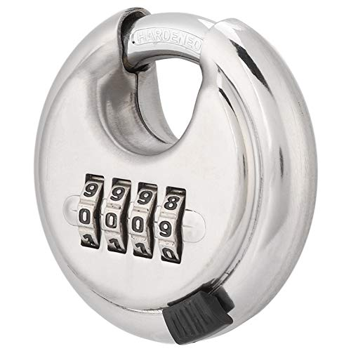Byged Cerradura para Exteriores de Acero Inoxidable, candado Master Lock de precisión, para Bicicleta de Gimnasio
