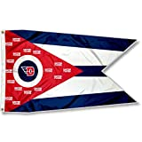 College Flags & Banners Co. Dayton Flyers State of Ohio Flag