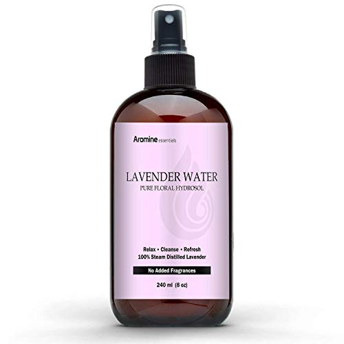 Lavender Floral Water Hydrosol, 8oz (240ml)