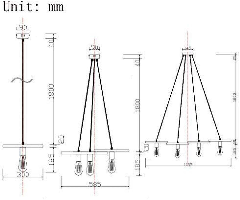 Lamps de Salon Minimaliste Moderne, de Chambre à Coucher, de Salle à Manger, Fixe de Mode Maison