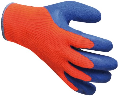 Portwest werkkleding voor heren, handschoenen tegen koude, oranje/blauw, maat L