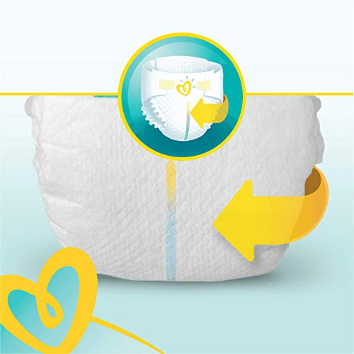 Pampers Premium Protection, Monthly Saving Pack, Soft Comfort, Approved by British Skin Foundation, Size 6, 120 Nappies, 13 kg+