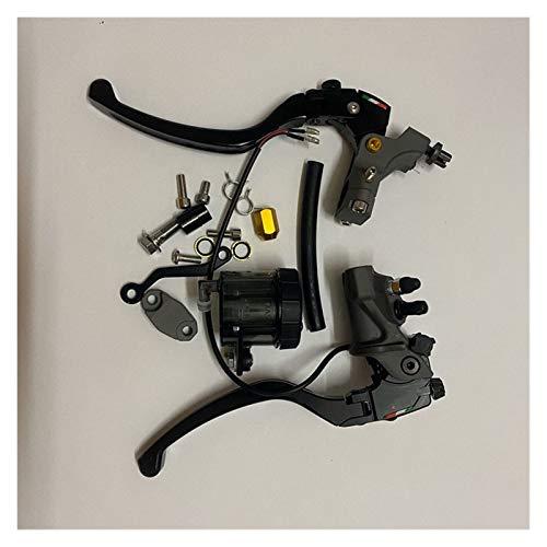 Manija de freno CNC 19 RCS, cilindro maestro de freno de motocicleta, acoplamiento de cable, bomba de freno Radial, 22mm, Universal para Ho&nda, Y&amaha, S&uzuki Palanca freno embrague (Size : A)