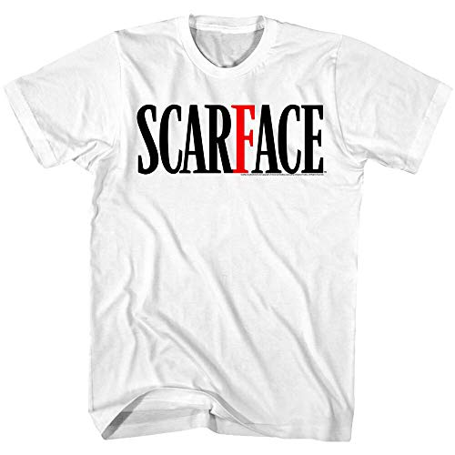 Scarface Movie Logo Men's T Shirt Tony Montana Movie Villain Al Pacino Cuban Top