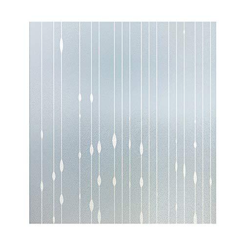 bandezid Vinilo para Ventana Vinilo Ventana Translucido Semi-Privacidad Decorativos Sin Pegamento Vinilo Adhesivo Electristáticamente para Dormitorio-K-Bead Curtain 0.6x5m