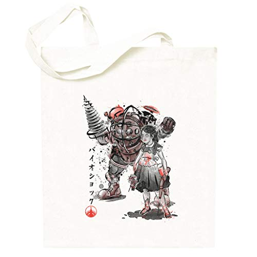 Bioshock Big Daddy Little Sister Totebag