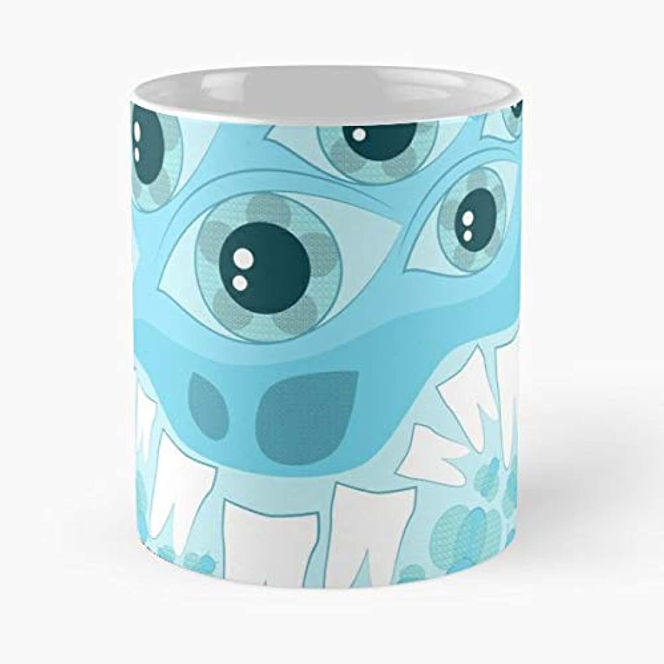 Spider Spiders Eye Eyes - 11 Oz Coffee Mugs Unique Ceramic Novelty Cup, The Best Gift For Halloween.