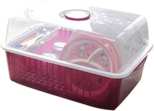 Égouttoir à vaisselle Grille support de rangement grille d'évier/de cuisine double de vin rouge