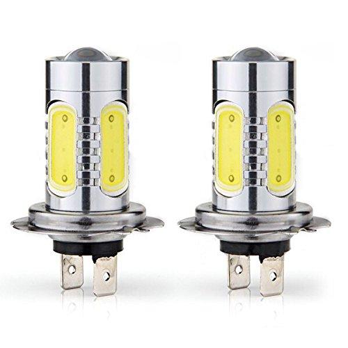 Unipower TMT LED (TM) Ampoules LED pour voiture moto H7 11 W anti-brouillard Cree Chips Blanc (Lot de 2)