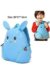 by Osaro Shop Brand Primary Grade 1-3 Kids Cute Cartoon Dog Owl Character School bag Children Girls Orthopedic School Backpack Bag Best Quality 1 PCs De lune schoolbag for Girls