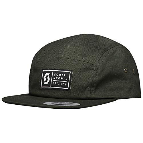 Scott 5-Panels Cap/Mütze grün