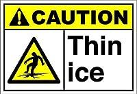 ベンサンナンシーヴィンテージレトロメタルサイン薄い氷注意-Style1225アイアンポスター絵画カフェバーパブホームビールデコレーションクラフトレトロビンテージサイン