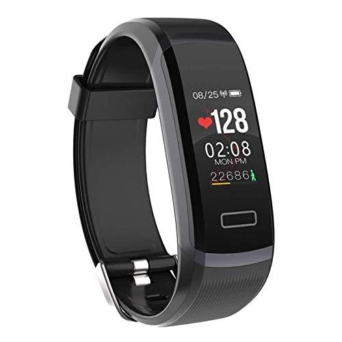 DSY Smart Watch Inteligente Reloj Hombres Pulsera Monitor en Tiempo Real Ritmo Cardíaco, Dormir Mejor Pareja Fitness Tracker Rosa Ajuste Mujeres/Negro