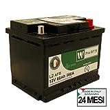 Batteria Auto 60 Ah AFB - 560A | Start & Stop | 242 x 175 x 190 | 60Ah | EFB