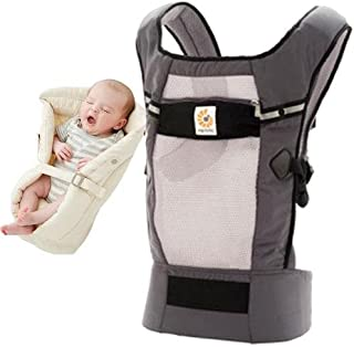 Ergobaby Bundle - 2 Items: Graphite Performance Ventus Carrier and Natural In...