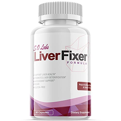 Liver Fixer Cleanse Formula for Liver Health Cleanse Supplement Pills (1 Pack)