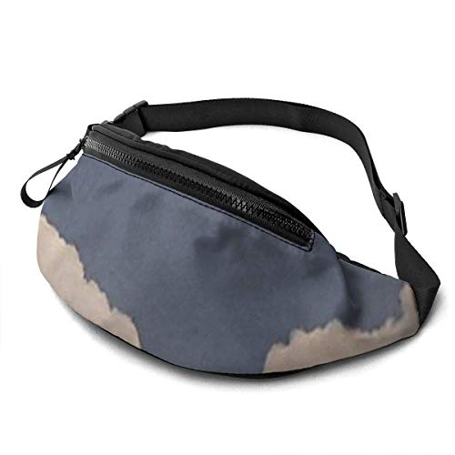 XCNGG Bolso de la cintura del ocio bolso que acampa bolso del montañismo Pink Sky Fanny Packs for Women and Men Waist Bag Adjustable Belt for Outdoors Workout,Traveling,Casual Running,Hiking,Cycling,W