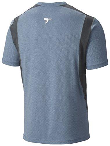 Columbia Men's Titan Ice Short Sleeve Shirt-Steel Heather, 2X-Large