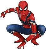 Amazing Disfraz de cosplay de Spider-Man para hombres niños adultos conjunto de medias elásticas Halloween Navidad juego de roles, juegos de disfraz, traje siamés ajustado, conjunto combinado