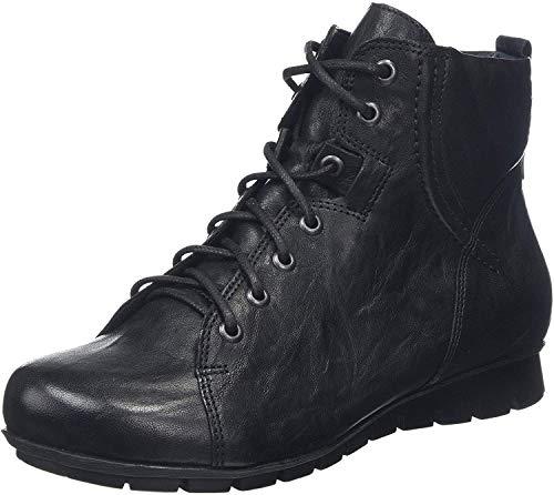 Think! Damen Menscha_585071 Desert Boots, Schwarz (Schwarz 00), 43 EU