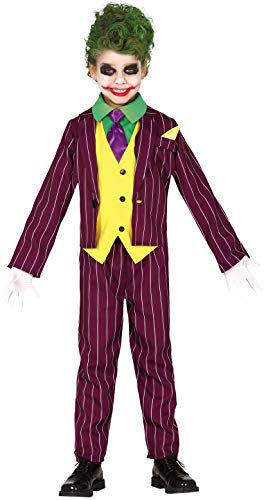 FIESTAS GUIRCA Disfraz de Joker Jester Child Killer