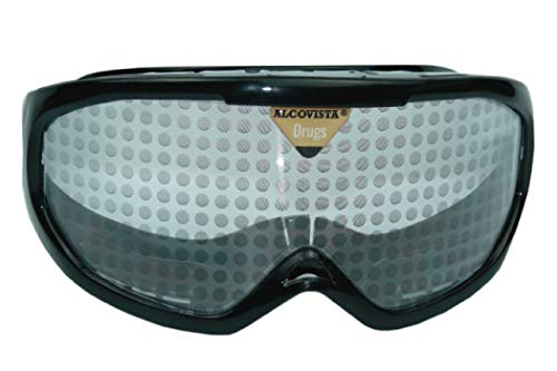 ORIGINAL ALCOVISTA® Rauschbrille - Drogenbrille und Psychotropebrille