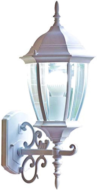 Firsthgus Europische wasserdichte Wandleuchte Wohnzimmer Schlafzimmer Balkon Villa Tür Auenwandleuchte, ohne Lichtquelle