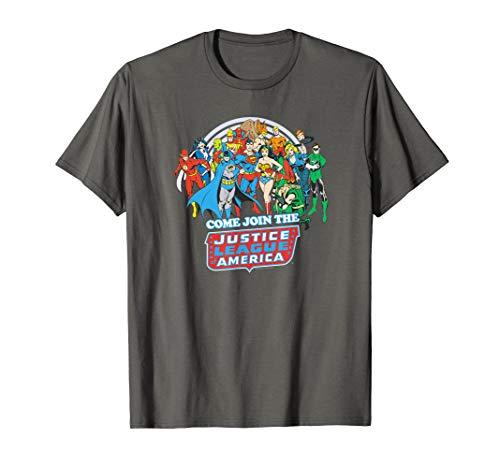 Justice League Join the League T-Shirt
