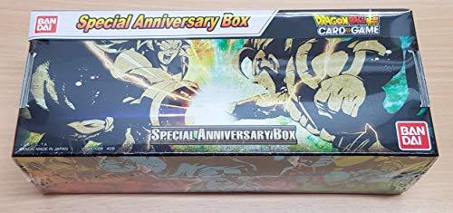 Dragon Ball Super Card Game - Coffret Cadeau de Noel 2019 : Special Anniversary Box - Version Broly VS Gogeta