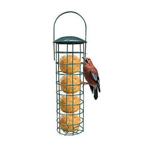 Mangeoire À Oiseaux,Rameng Distributeur De Nourriture Suspendue en Plein Air pour Boules de Graisse